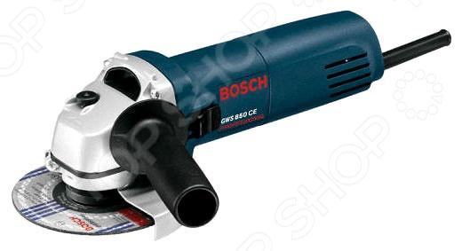 Машина шлифовальная угловая Bosch GWS 850 CE шлифовальная машина bosch pwr 180 ce 06033c4001