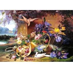 Купить Пазл 2000 элементов Castorland «Живопись (цветы)»
