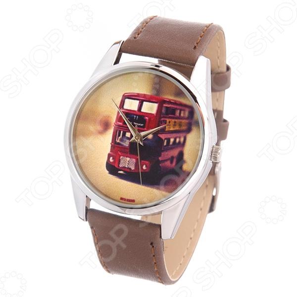 Часы наручные Mitya Veselkov «Лондонский автобус» билет на автобус до анапы из волгограда
