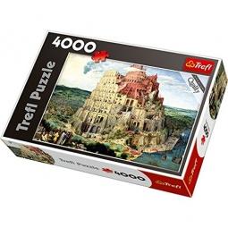 Купить Пазл 4000 элементов Trefl «Вавилонская Башня»