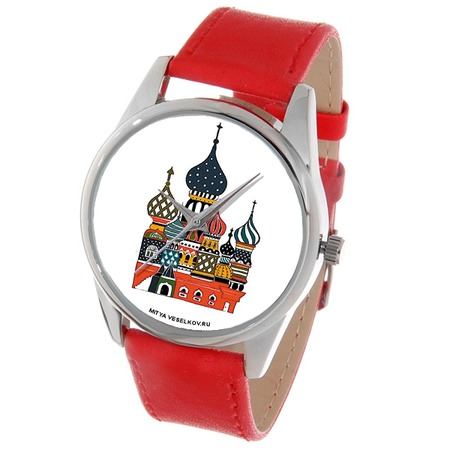 Купить Часы наручные Mitya Veselkov «Храм» Color