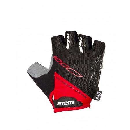 Купить Перчатки велосипедные вентилируемые Atemi AGC-04. Цвет: красный