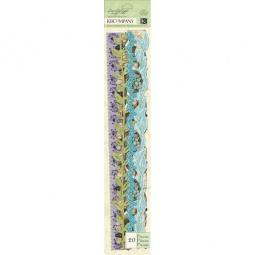 Купить Ленты бумажные K&Company «Бордюры. Мир растений»