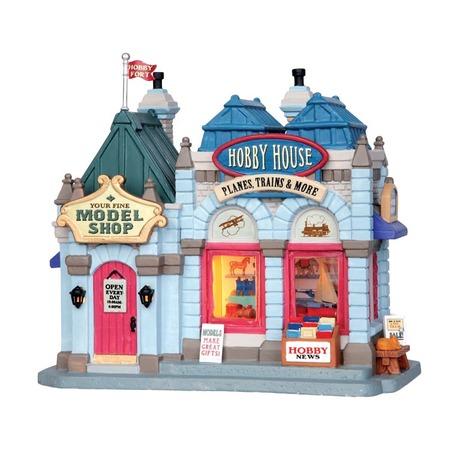 Купить Домик керамический Lemax «Хобби Хауз»