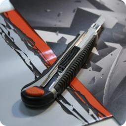 фото Нож канцелярский Albion Albion Hi-Tech. Толщина лезвия: 9 мм