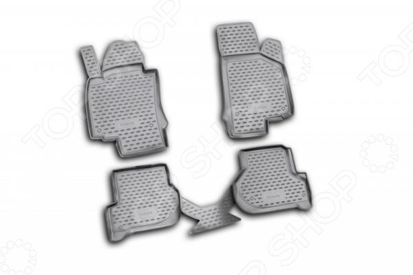 Комплект ковриков в салон автомобиля Novline-Autofamily Skoda Octavia II 2008Коврики в салон<br>Комплект ковриков в салон автомобиля Novline Autofamily Skoda Octavia II 2008, созданные для сохранения чистоты в салоне автомобиля. Обладают повышенной прочностью, износостойкостью и очень удобны в использовании. Эти коврики станут неотъемлемой частью вашего автомобильного интерьера. Края обработаны высокопрочной крученой нитью. Преимущества: новый полимерный материал, коврики оснащены фиксаторами, защита от западания педали газа, антискользящий рельеф, идеальная подходимость, гигиенические сертификаты.<br>