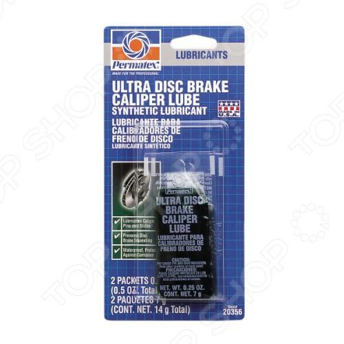 Смазка синтетическая для тормозных цилиндров и суппортов Permatex PR-20356 Ultra permatex stripped thread в новосибирске