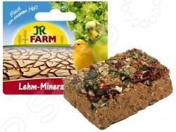 Камень минеральный для птиц JR Farm Lehm MineralВитамины и подкормки для птиц<br>Камень минеральный для птиц JR Farm Lehm Mineral специальный глиноземный камень с высохшими семенами и овощами, которые будут клевать птицы во время кормления. Такой прикорм нужен для регулярного получения полезных микроэлементом. Восполняет недостаток минералов в организме и укрепляет здоровье.<br>