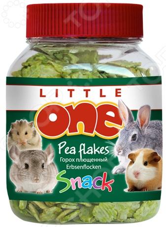 Лакомство для грызунов Little One «Горошек плющеный» лакомство для грызунов little one ягодное ассорти