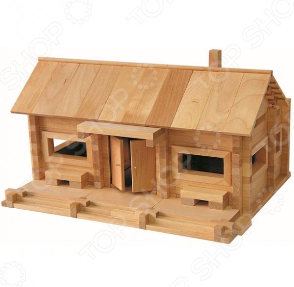 Конструктор деревянный Теремок «Станция Лесная»