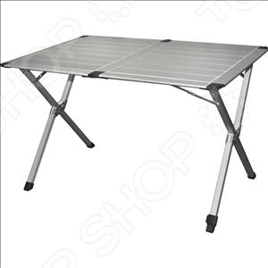 Стол складной Greenell FT-3 v2Табуреты, стулья, столы<br>Стол складной Greenell FT-3 v2 отличная столешница для пикников, рыбалки и кемпинга. Имеет устойчивую конструкцию, усилена дополнительной перекладиной. Благодаря легкому весу и складной конструкции его очень удобно брать с собой в поездку. Особый способ фиксации ножек придает столу высокую устойчивость. Одна ножка регулируется по высоте для установке на неровной поверхности. Каркас стола выполнен из высокопрочного алюминия.<br>