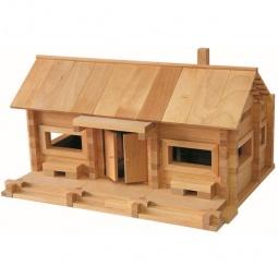 фото Конструктор деревянный Теремок «Станция Лесная»