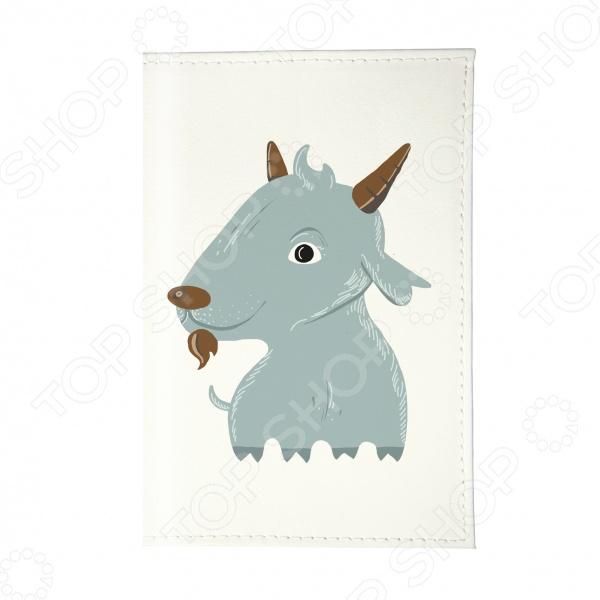 Обложка для паспорта Mitya Veselkov «Голубой козлик»