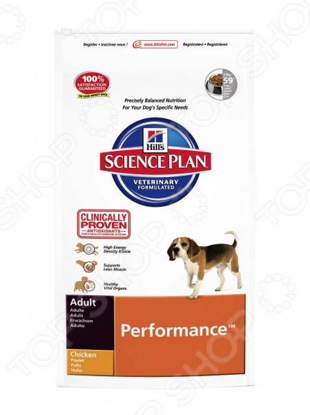���� ����� ��� ����� Hill's Science Plan Performance