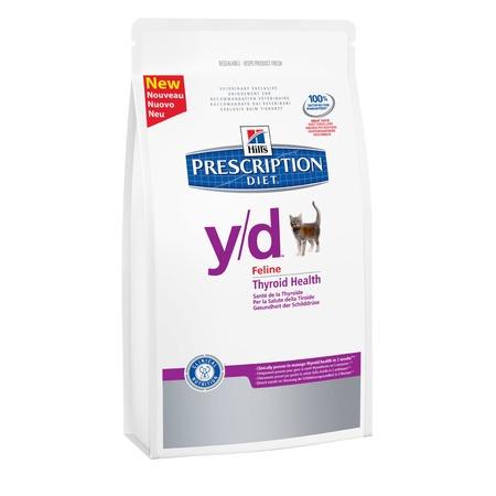 Купить Корм сухой диетический для кошек Hill's Y/D Prescription Diet Feline