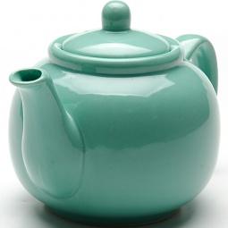 фото Чайник заварочный Loraine Bio&Eco Ceramic. Цвет: бирюзовый
