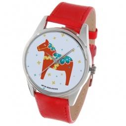 фото Часы наручные Mitya Veselkov «Скандинавская лошадка» Gold