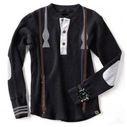 фото Кофта с длинным рукавом Mini Shatsu Bow Tie Suspenders. Рост: 134-140 см