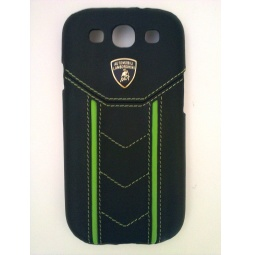 фото Чехол Lambordghini Cover Gallardo D2 для Samsung S3 I9300. Цвет: черный