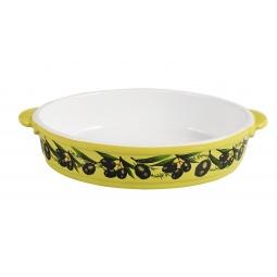 Купить Блюдо для запекания керамическое овальное «Едим Дома от Юлии Высоцкой»