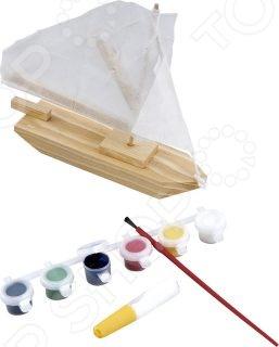 Набор для моделирования Mapacha «Парусник с красками»