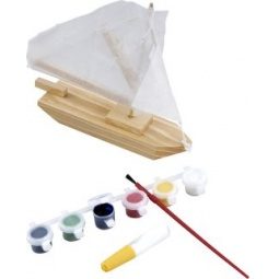 фото Набор для моделирования Mapacha «Парусник с красками»