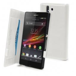 фото Чехол Muvit Slim Folio для Sony Xperia Z. Цвет: белый