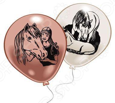 Набор надувных шариков Everts «Лошадки»