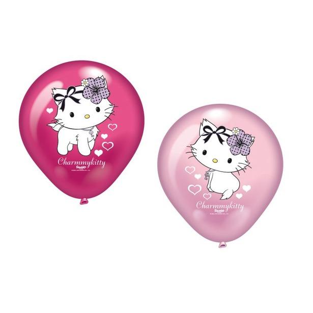 фото Набор надувных шариков Everts «Charmmy Kitty c сердечками»