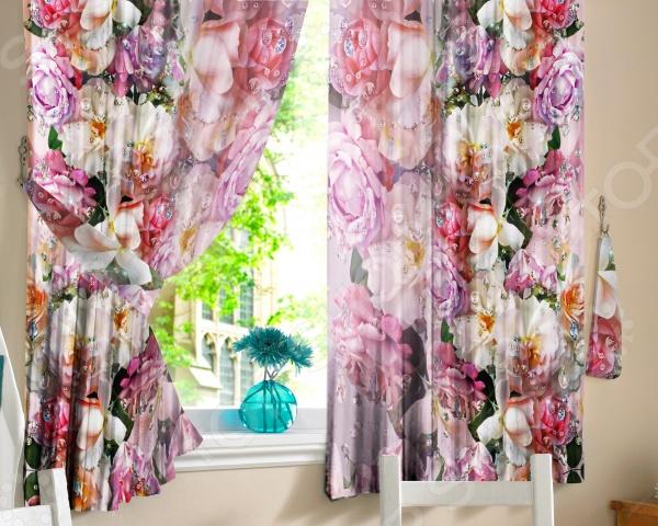 Шторы для кухни «Искушение» шторы для кухни drdeco шторы для кухни вальс цветов дизайн 5