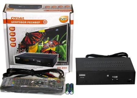 Ресивер СИГНАЛ HD-200