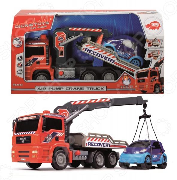 Машинка игрушечная Dickie «Эвакуатор» AirPump машины dickie машинка тачки на инфракрасном управлении