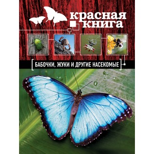Купить Красная книга. Бабочки, жуки и другие насекомые