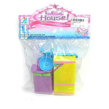 Купить Набор мебели игрушечный Shantou Gepai House