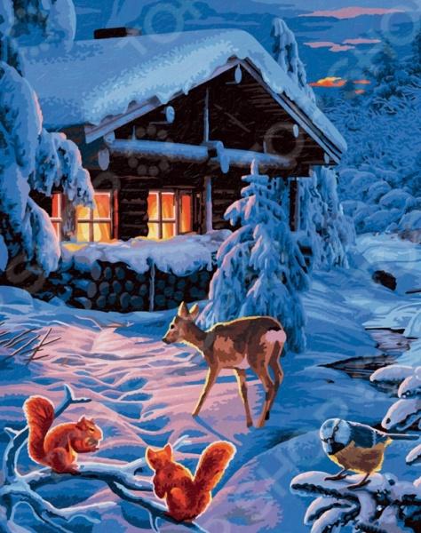Набор для рисования по номерам Schipper «Романтическая зимняя ночь»Наборы для рисования по номерам<br>Набор для рисования по номерам Schipper Романтическая зимняя ночь это отличная раскраска, которая точно понравится любителям заниматься изобразительным искусством. Живопись такого рода становится очень популярной, ведь картин огромное множество и вы можете подобрать именно то, что хочется именно вам. В процессе рисования человек открывает душу, чувствует связь с миром и со своей глубинной сущностью. Процесс рисования представляет собой процесс создания фантастического мира, в котором все будет идеальным. Во время раскрашивания ребенок развивает мелкую моторику пальцев, фантазию и усидчивость. Но, такая картина может стать прекрасным подарком и для взрослого человека, ведь рисование так успокаивает после трудового дня.<br>