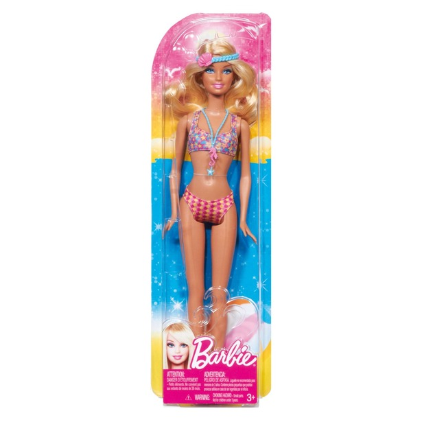 фото Кукла Mattel Barbie на пляже