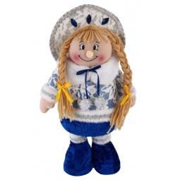 фото Игрушка новогодняя Новогодняя сказка с регулируемой высотой «Снегурочка»