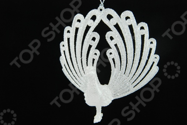 Елочное украшение Crystal Deco «Павлин» 1707765