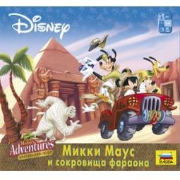 """фото Настольная игра """"Микки Маус и сокровища Фараона"""""""