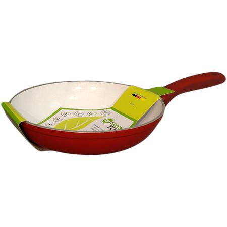 Купить Сковорода GreenTop Ceramic. Цвет: красный