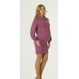 Купить Туника-платье для беременных Nuova Vita 1512.02. Цвет: розовый