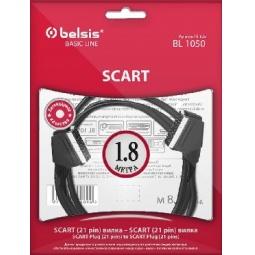 фото Кабель видео SCART-SCART Belsis BL1050