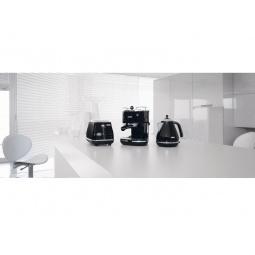 фото Набор приборов для завтрака DeLonghi ECO 311, KBO 2001, CTO 2003. Цвет: черный