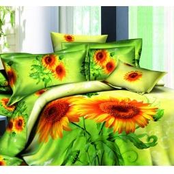 фото Комплект постельного белья с эффектом 3D Buenas Noches Podsolnuh. 2-спальный