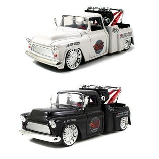 Купить Модель автомобиля Jada Toys 1955 Chevy Step side Tow truck. В ассортименте