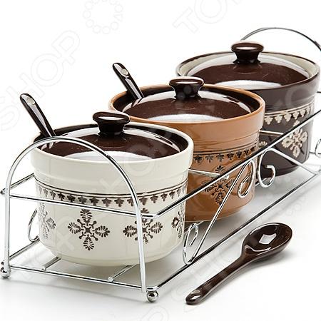 Набор банок с крышками Loraine LR-24665 набор аксессуаров для кухни