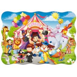 Купить Пазл 30 элементов Castorland «Цирк»