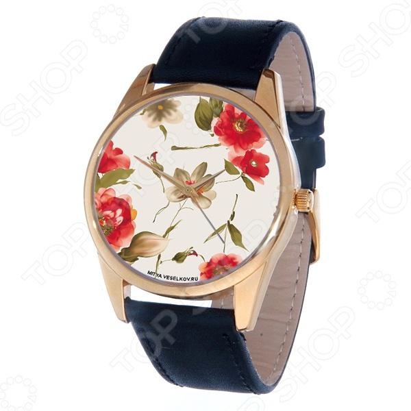 Часы наручные Mitya Veselkov «Акварель» Gold balsax iguana