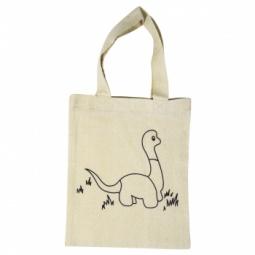 Купить Сумка хлопковая с контуром рисунка Rayher «Динозавр»