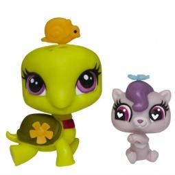 фото Игрушка-зверюшка с аксессуарами Hasbro «Черепаха и выдра» A8430